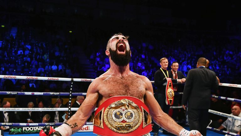 Jono Carroll is unbeaten in 16 fights