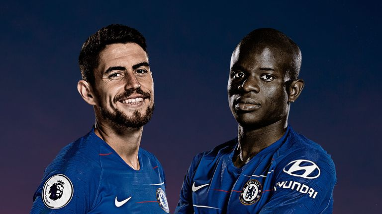 Jorginho and N'Golo Kante's roles at Chelsea were debated on Monday Night Football