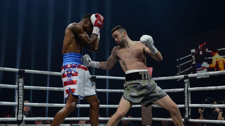 Taylor's victory saw him retain his WBC Silver championship belt