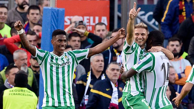 Junior Firpo has impressed for Real Betis