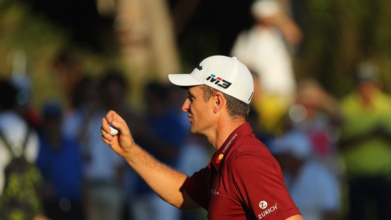 Rose was one of three players still in the running to win the Race to Dubai