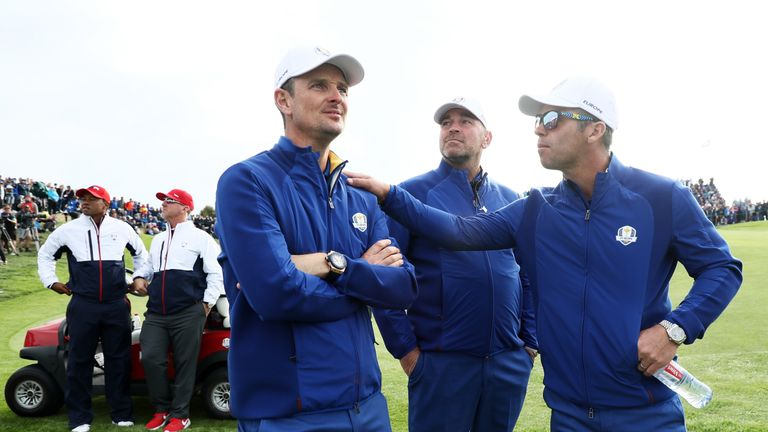 Molinari leads Fleetwood in race for European title