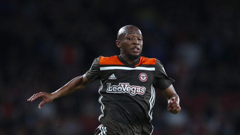 Kamohelo Mokotjo is set to miss out for Brentford