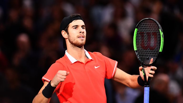 Karen Khachanov is on the brink of the biggest title of his career and will face Djokovic in Sunday's final
