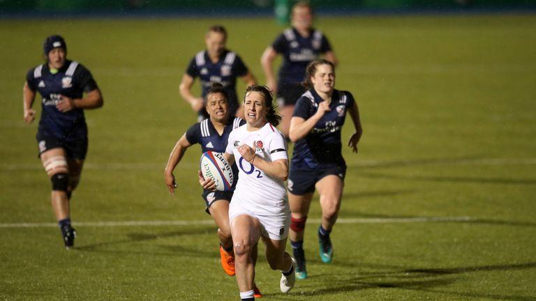 Katy Daley-Mclean breaks for England