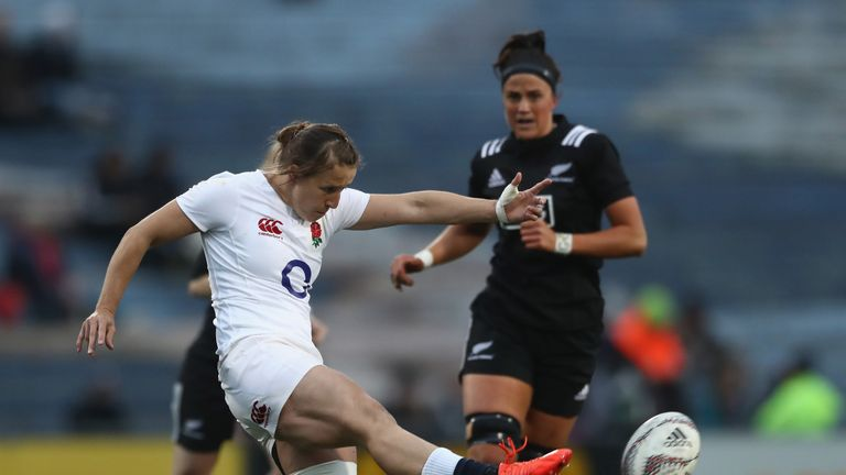 Daley-McLean's tactical kicking was crucial for England's win against the Black Ferns in 2017