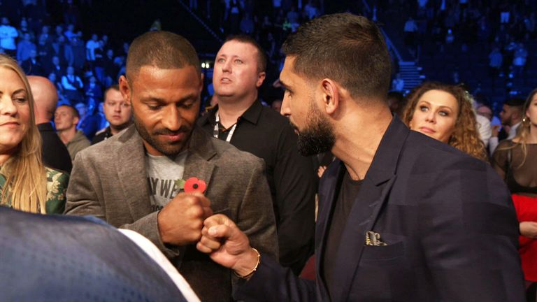 Brook and Khan seemed to come to some sort of agreement in the Manchester Arena on November 10.