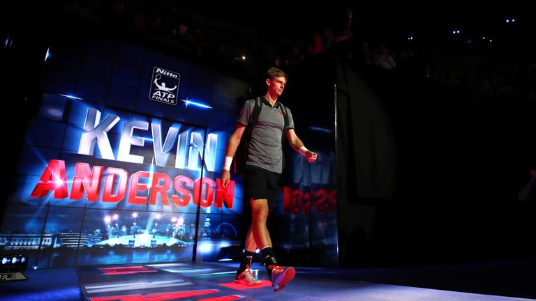 Kevin Anderson qualified for the semi-finals of the ATP Finals