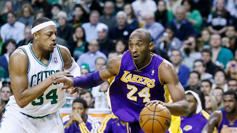 Kobe Bryant scored 60 points in his final NBA appearance