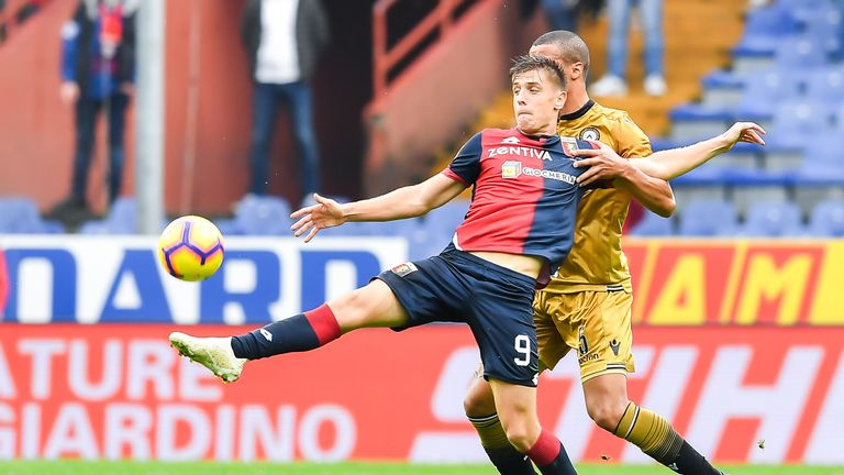 Piatek has starred in Serie A in the early months of the season