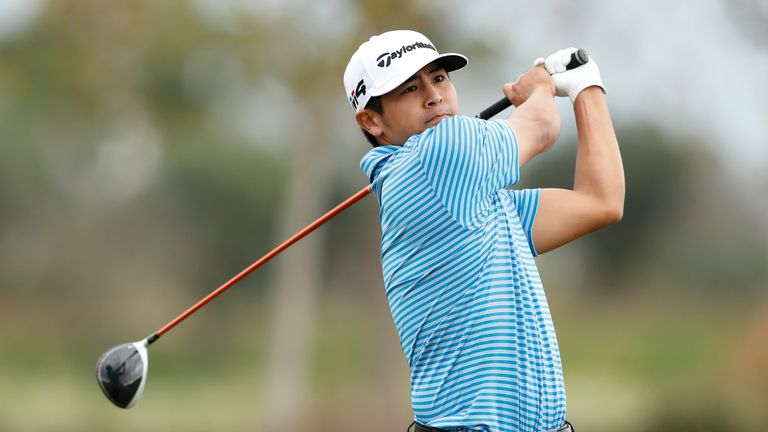 Kitayama carded nine birdies in his second round