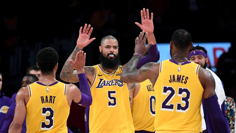 Phoenix Suns @ LA Lakers live on Sky Sports | NBA News |