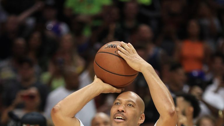 during week eight of the BIG3 three on three basketball league at Staples Center on August 13, 2017 in Los Angeles, California.