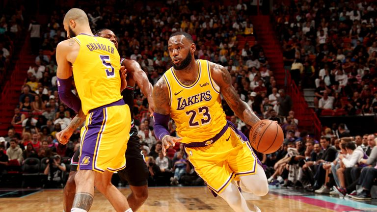 1f826c493c5 NBA round-up  LeBron James scores season-high 51 points as Lakers beat Heat  Nikola Vucevic narrowly missed out on a triple-double