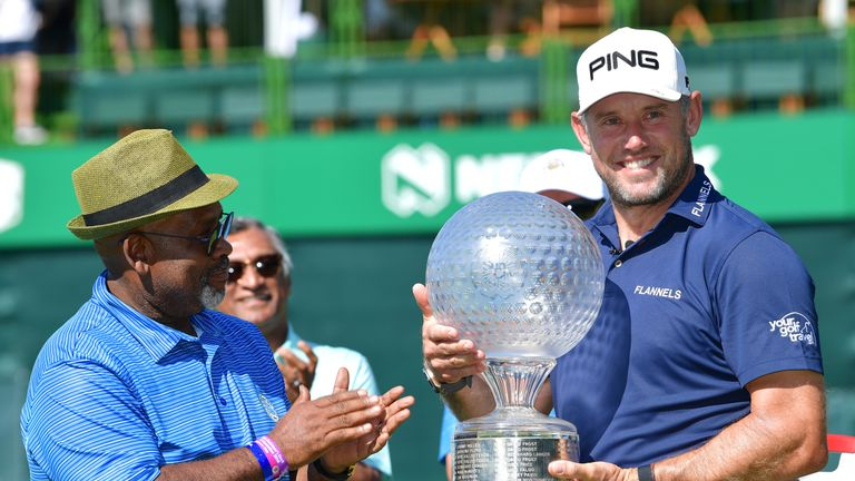 Lee Westwood won the Nedbank Golf Challenge