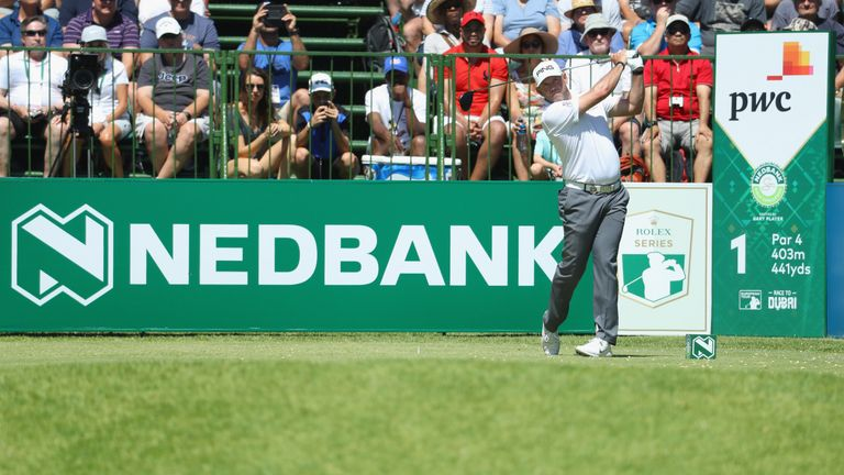 Lee Westwood is three off the pace heading into the final round