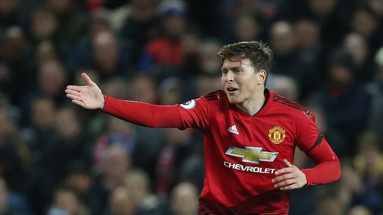 Manchester United defender Victor Lindelof came out with an injury