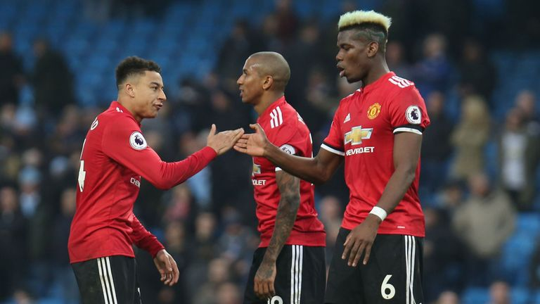 Man United struggles highlighted by confident, controlled Man City