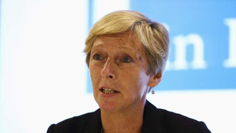 Liz Nicholl will step down next summer after nine years as UK Sport's CEO