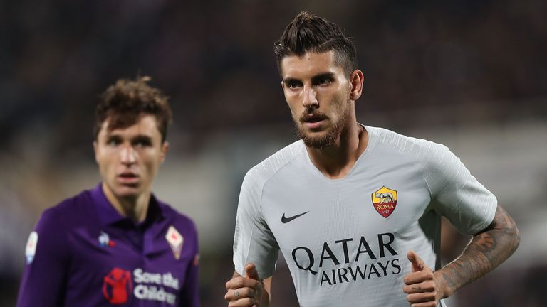 Roma's Lorenzo Pellegrini has been linked with Manchester United