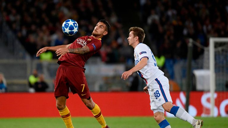 Lorenzo Pellegrini has started 31 league games since the start of last season
