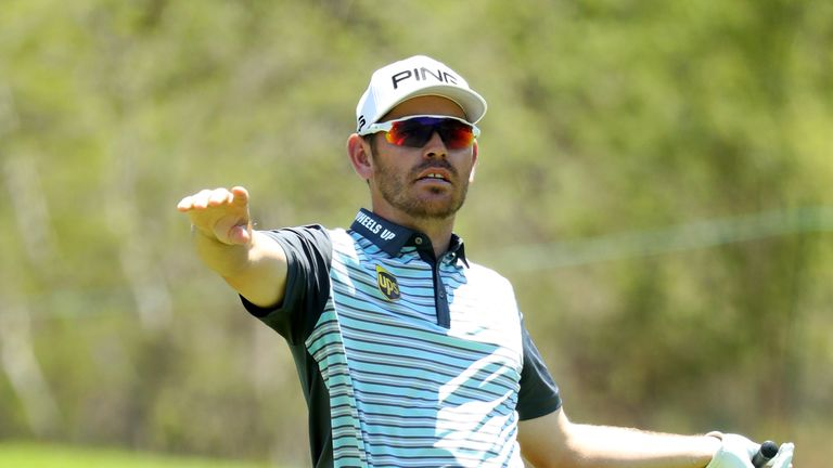 Louis Oosthuizen was content with his own performance