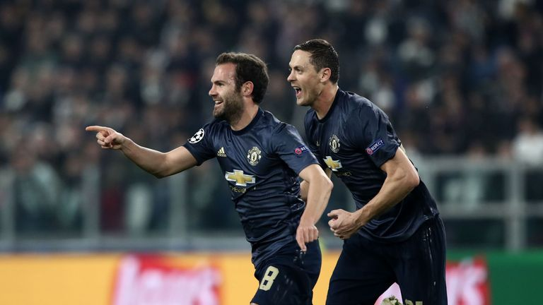 Image result for juan mata scoring at juve