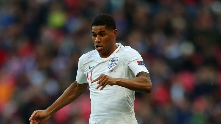 Marcus Rashford misses full England training