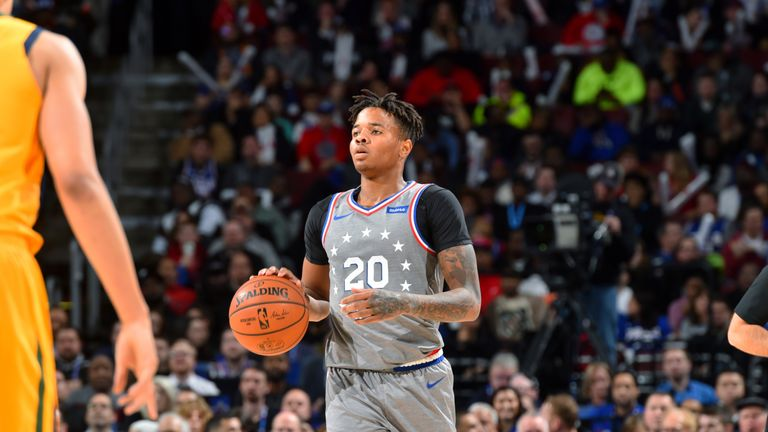 b23df0da7f9 Markelle Fultz is facing a spell on the sidelines with a shoulder injury