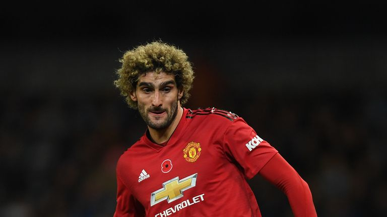 Marouane Fellaini has also been passed fit for the game, along with Antonio Valencia, Paul Pogba and Marcus Rashford