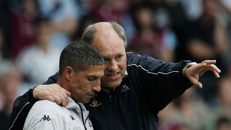 Martin Jol set Hughton up for management