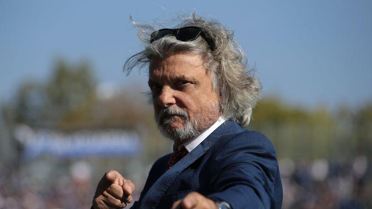 Sampdoria president Massimo Ferrero has come under scrutiny from Italian tax police