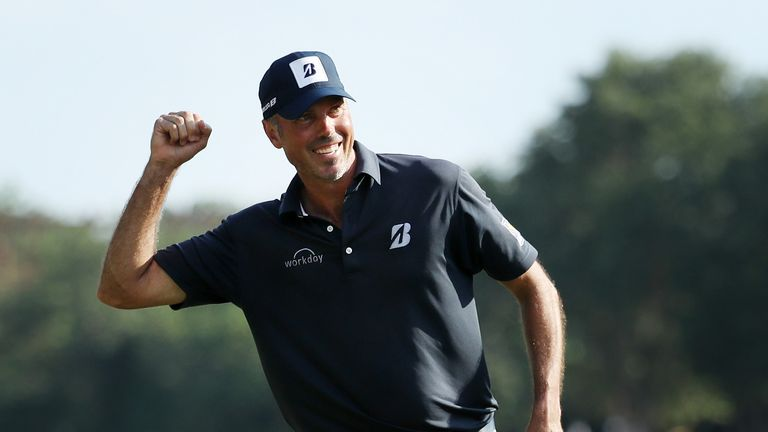 Kuchar's win was his first on the PGA Tour for four-and-a-half years