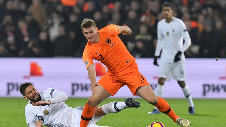 Ajax struggles to hold Matthijs de Ligt according to Marc Overmars