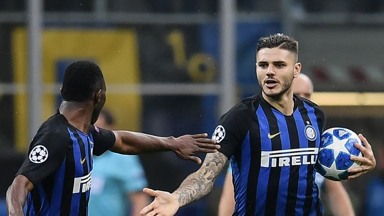 Mauro Icardi rescued a point for Inter Milan against Barcelona