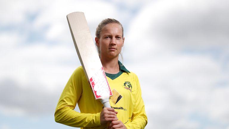 Nasser Hussain says Australia captain Meg Lanning (piictured) is a 'superstar'
