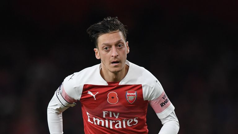 Unai Emery coy on Mesut Ozil injury after missing Tottenham victory | Football News |