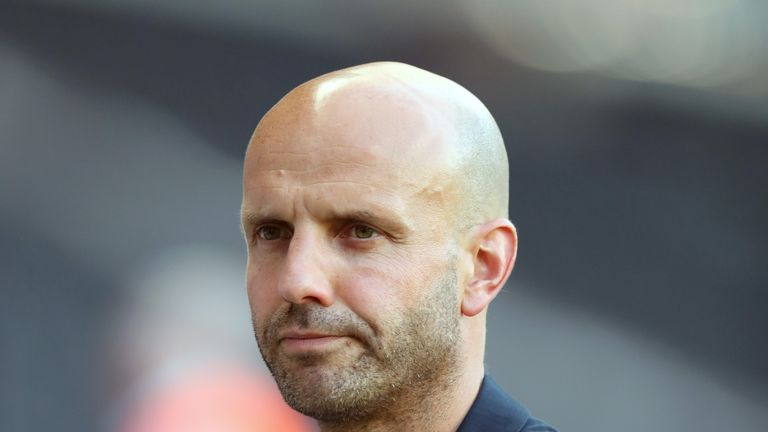 Paul Tisdale has steered MK Dons to the top of Sky Bet League Two
