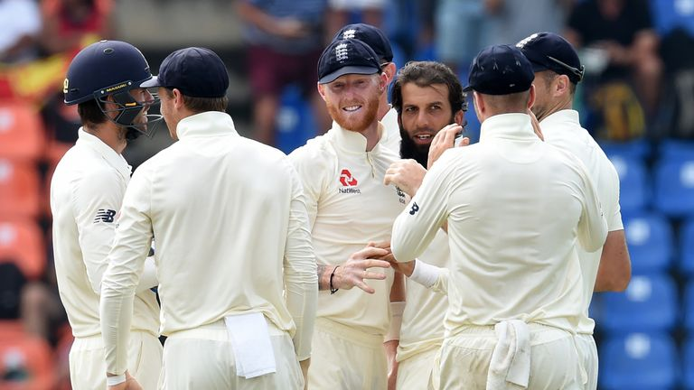 Moeen Ali picked up the crunch wicket of Niroshan Dickwella early on day five