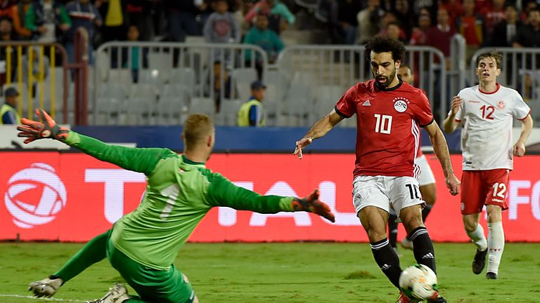 Liverpool forward Mohamed Salah should feature for Egypt in the tournament