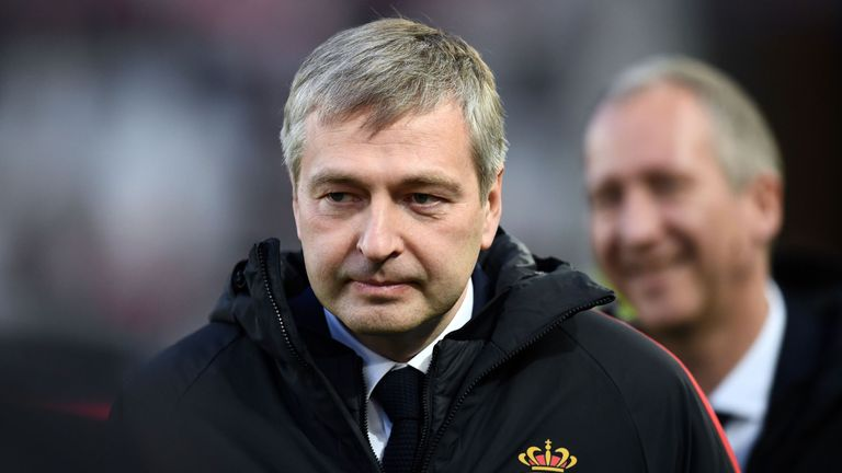 Monaco majority owner Dmitry Rybolovlev saved the club from bankruptcy in December 2011 when they were bottom of France's second tier