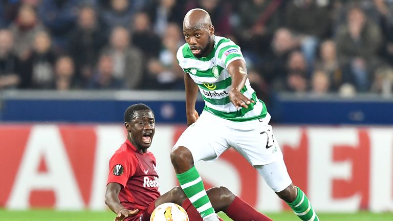 Youssuof Mulumbu has only played twice for Celtic after joining in the summer from Kilmarnock