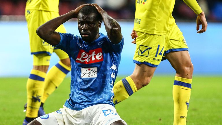 Napoli lost further ground on Serie A leaders Juventus