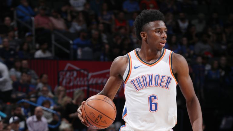Oklahoma City Thunder guard Hamidou Diallo diagnosed with sprained ankle |  NBA News | Sky Sports