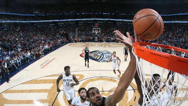 pelicans spurs nba