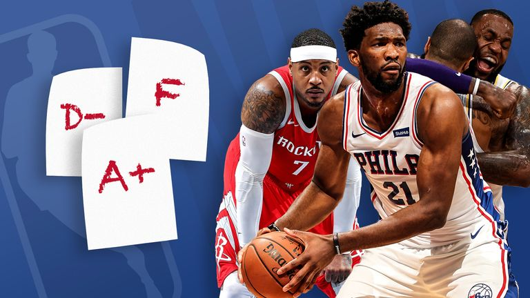 NBA report card: Grading the recent performances of five high-achieving and struggling teams