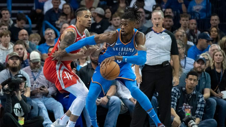 thunder rockets nba
