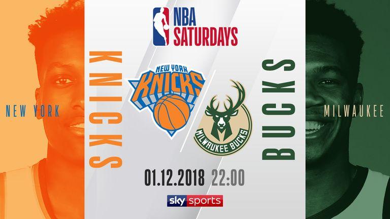 NBA Saturdays - Knicks @ Bucks