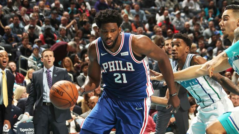 Kemba Walker scores career-high 60 points but Charlotte Hornets lose in OT to Philadelphia 76ers | NBA News |