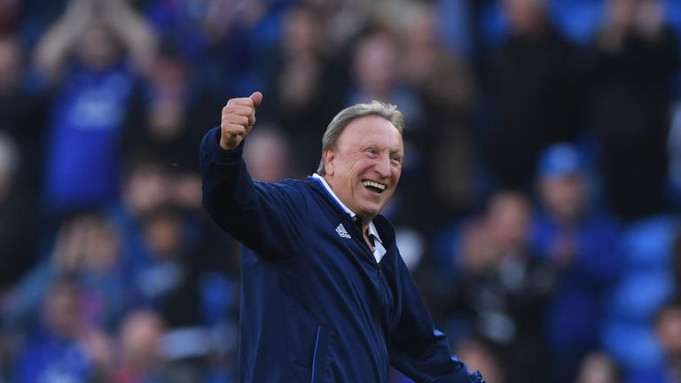 Warnock is on a stringent fitness regime to ensure he can deal with the stresses and strains of modern management